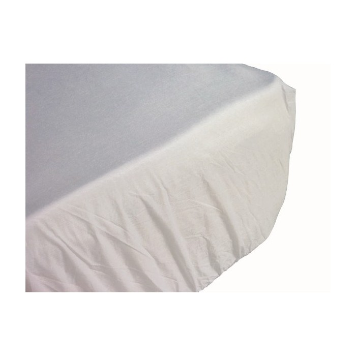 Drap housse de protection jetable imperm able pour literie - Destockage drap housse ...