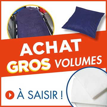 Gros volumes Literie Ambulanciers