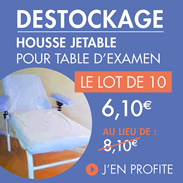 Housse table d'examen destock